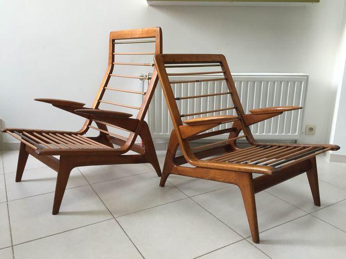 Gelderland, 2 fauteuils vintage