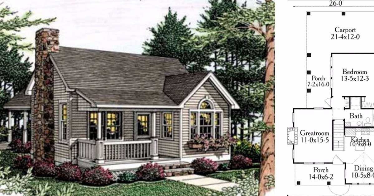 Small cottage style house would love to see