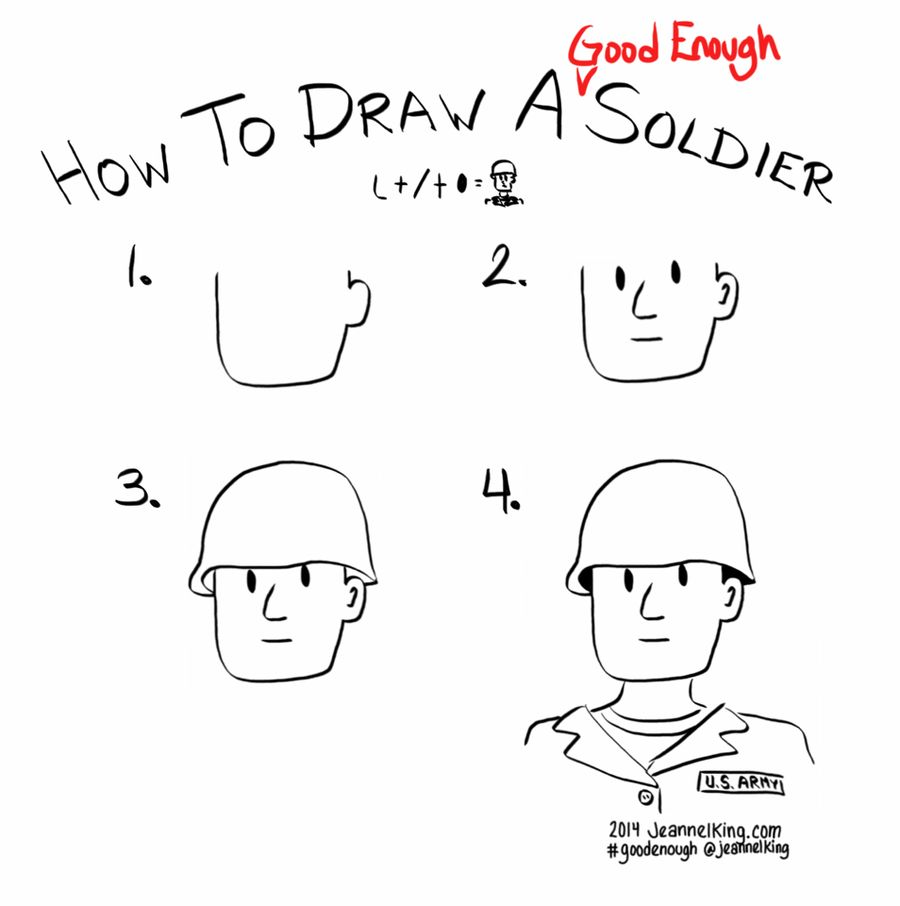 GoodEnough-Soldier … | art in 2019 | Drawings, Easy drawings
