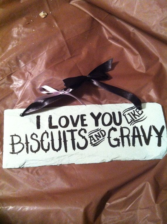 Home Decor, Kitchen Signs, Country Sayings Sign, Kitchen Decor, Biscuits  And Gravy