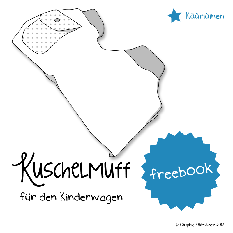 Selber Naehen Vorlagen: Freebook Kuschelmuff Für Den Kinderwagen