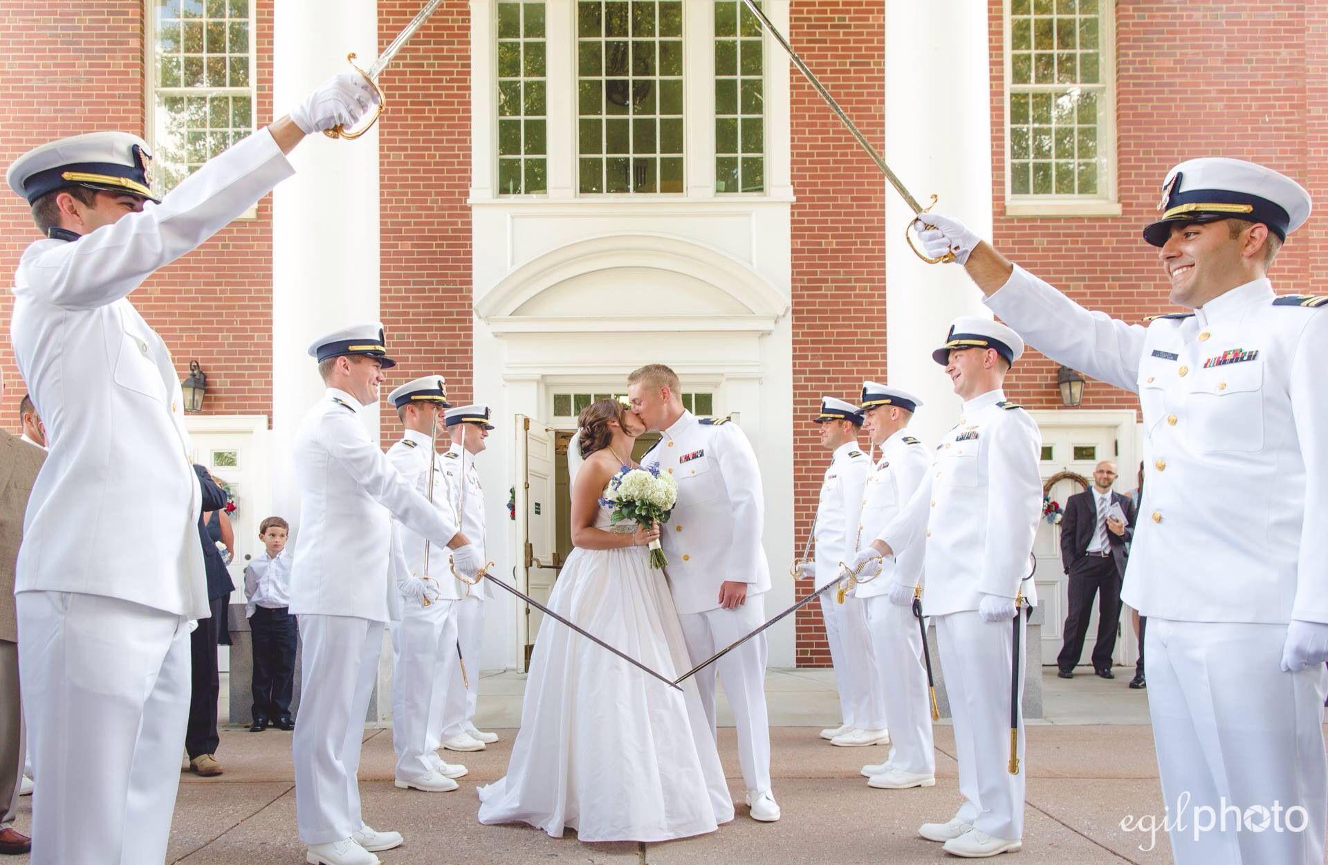 coast guard wedding sword arch in glastonbury ct wedding