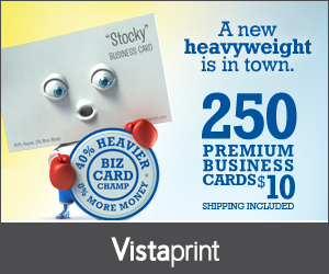 250 premium business cards from vistaprint for 10 shipped online 250 premium business cards from vistaprint for 10 shipped reheart Image collections