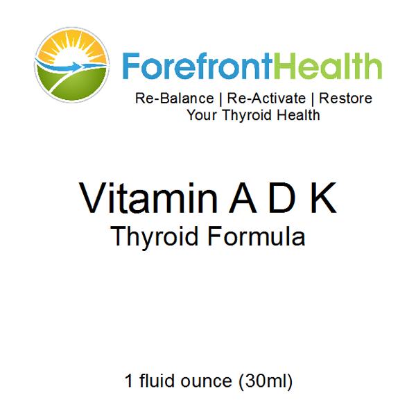 Vitamin Adk Thyroid Formula Remedies Pinterest Thyroid