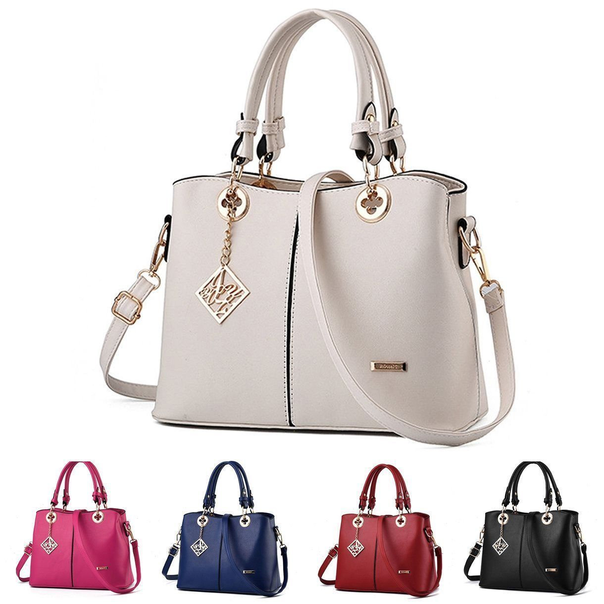 4c1ae46b97 Hot Women Handbag Shoulder Bags Tote Purse Pu Leather Messenger Hobo Bag  Satchel