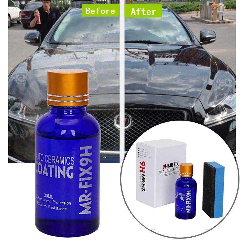 Franchise 2pcs Fix It Pro Nano 9h Car Oxidation Liquid Ceramic Coat Super Hydrophobic Glass Coating Scrach Remover Quita Car Coating Car Polish Ceramic Coating