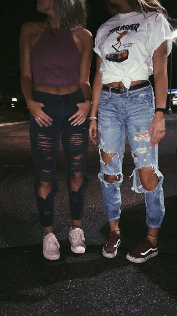 023c8621c8 grunges Cute Jean Outfits