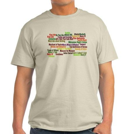 Shakespeare Plays T-Shirt