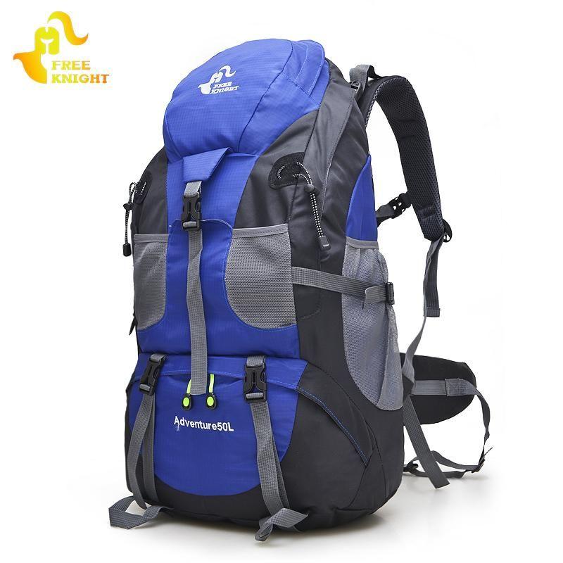 50L Camping Hiking Climbing Rucksack Travel Hiking Backpack  Outdoor Bag