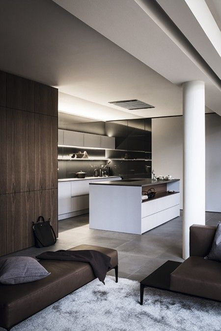 Meuble mur bois lasure gris foncé kitchen Pinterest Lasure - meuble de cuisine gris anthracite