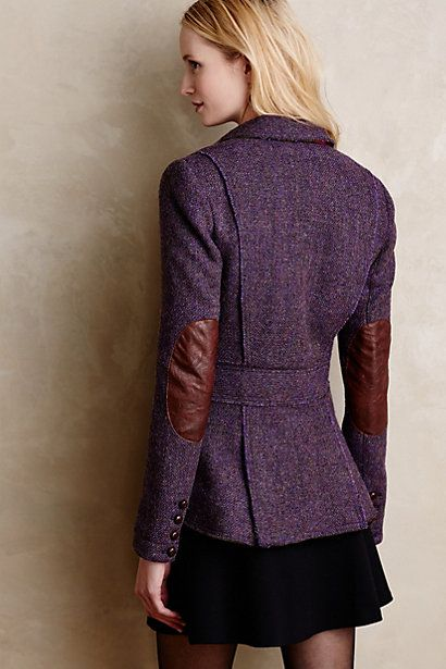 Limited-Edition Harris Tweed Blazer - anthropologie.com