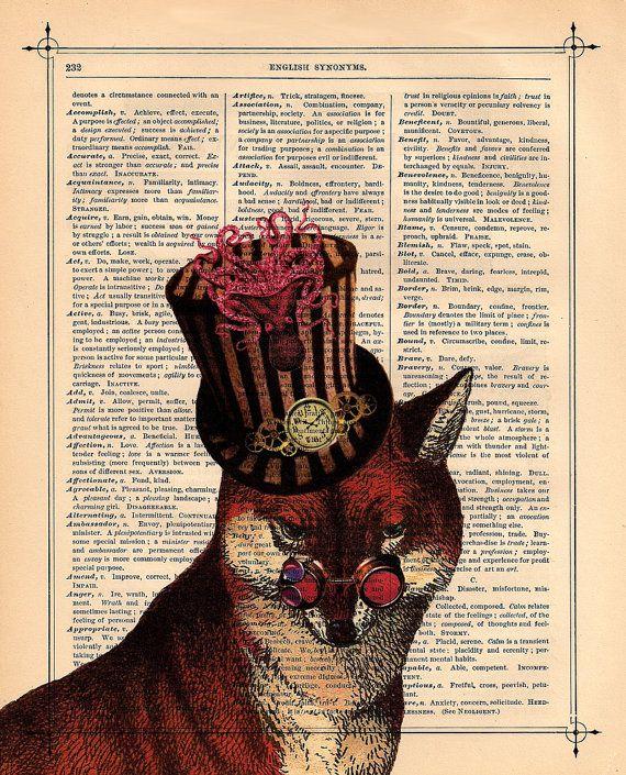 Steam punk fox
