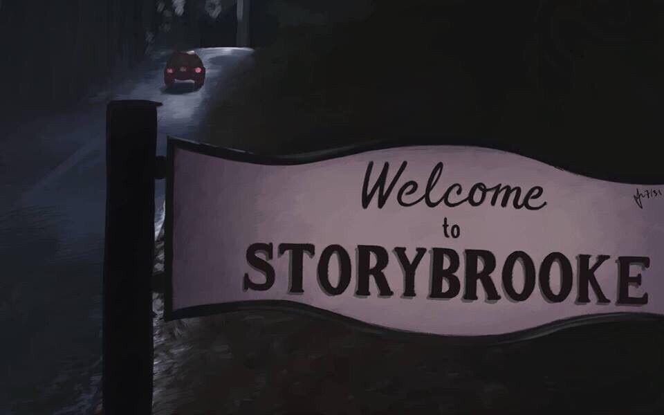 """Awesome """"Welcome To Storybrooke """" sign #Storybrooke #Maine ..."""
