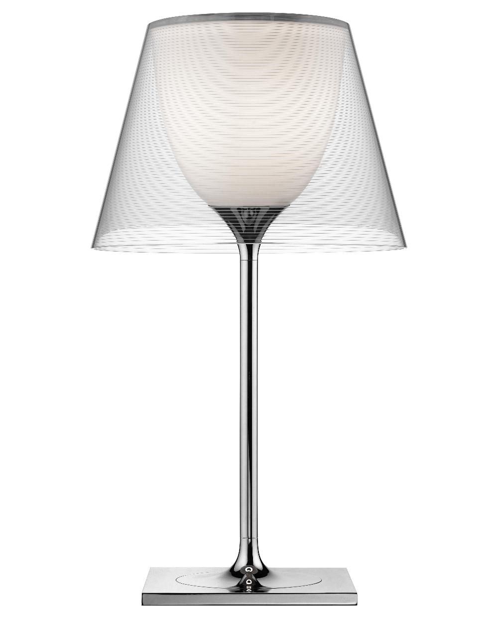 Lampe De Table K Tribe T1 Flos Transparent Made In Design En 2020 Abat Jour Moderne Lampe Lampes De Table