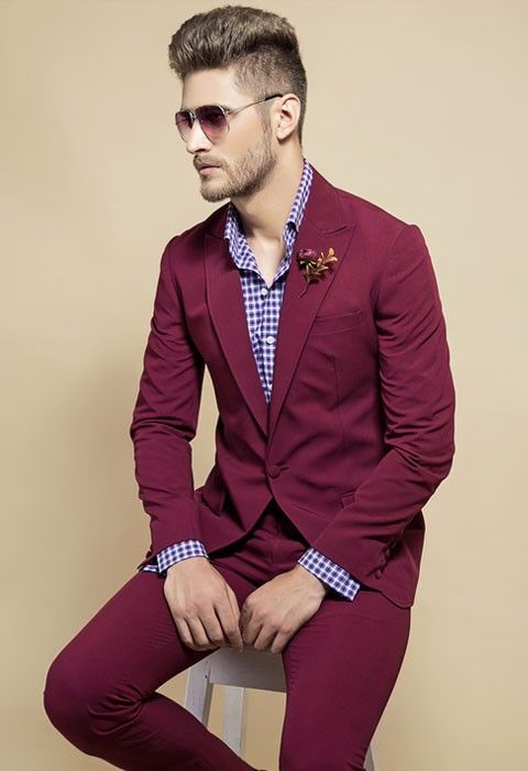4032512ffe30 ... from China style tuxedo Suppliers: Tailor Made Casual Style Man Blazer  Fuchsia Groom Tuxedos Slim Fit Mens Wedding Prom Party Suits(Jacket+Pants)terno  ...