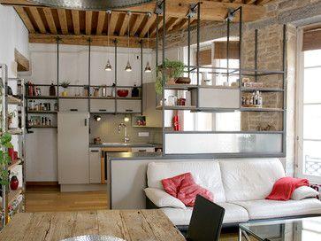 les 25 meilleures id es de la cat gorie etagere suspendue plafond sur pinterest balan oire. Black Bedroom Furniture Sets. Home Design Ideas