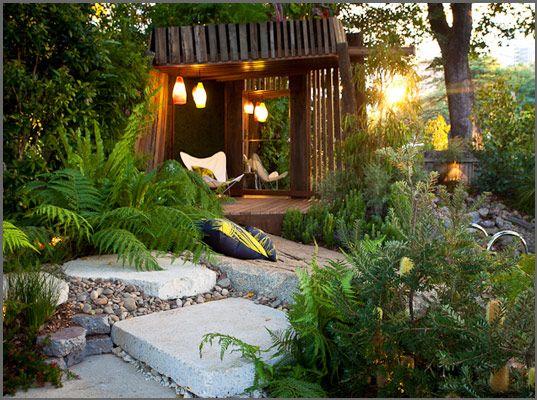 Hideaway | Sustainable landscaping, Sustainable garden ...