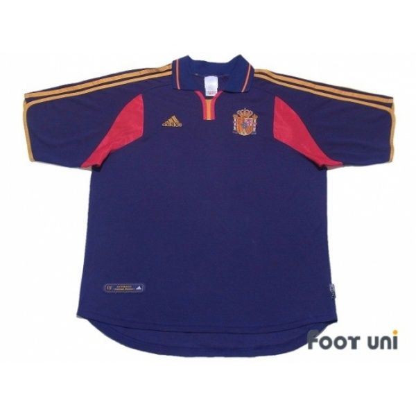 56d1ecc15b5 Photo1  Spain 2000 Away Shirt - Football Shirts