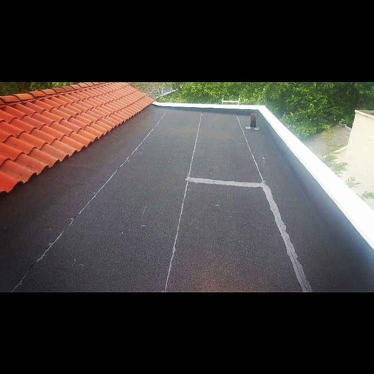 Sbs Flat Roof Installation Completed With Aluminum Copping In Rosedale Queens Ny Flat Roof Installation Roof Installation Flat Roof