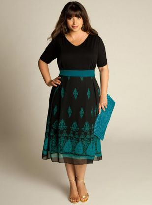 Heera Dress (Limited Collection) curvy clothing