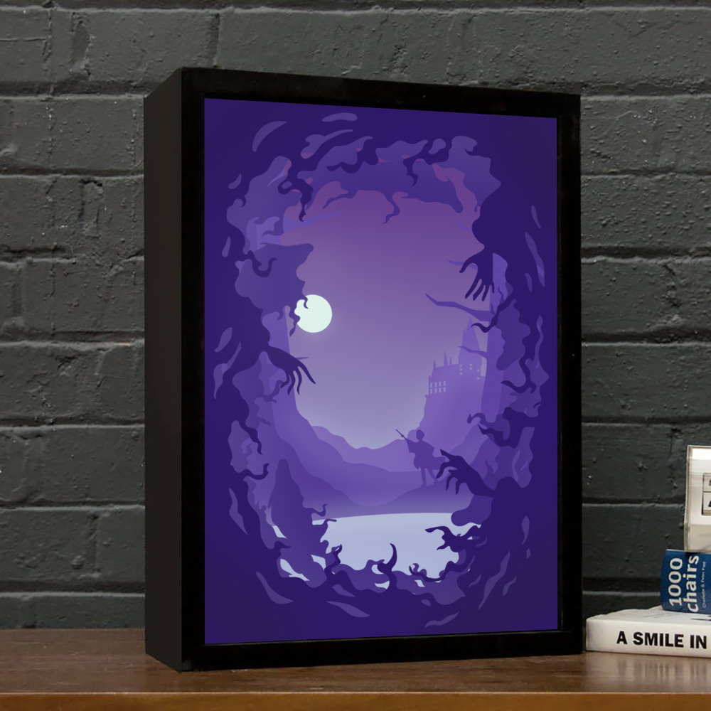 The Best Lightbox Templates For Your Creativity Lightbox Templates Free Download Large Collection Of Templates Friend Light Box Diy Shadow Box 3d Shadow Box