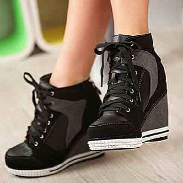 27c07649e8d05 These Shoes | fashion | Shoes, Wedge tennis shoes, Shoe boots