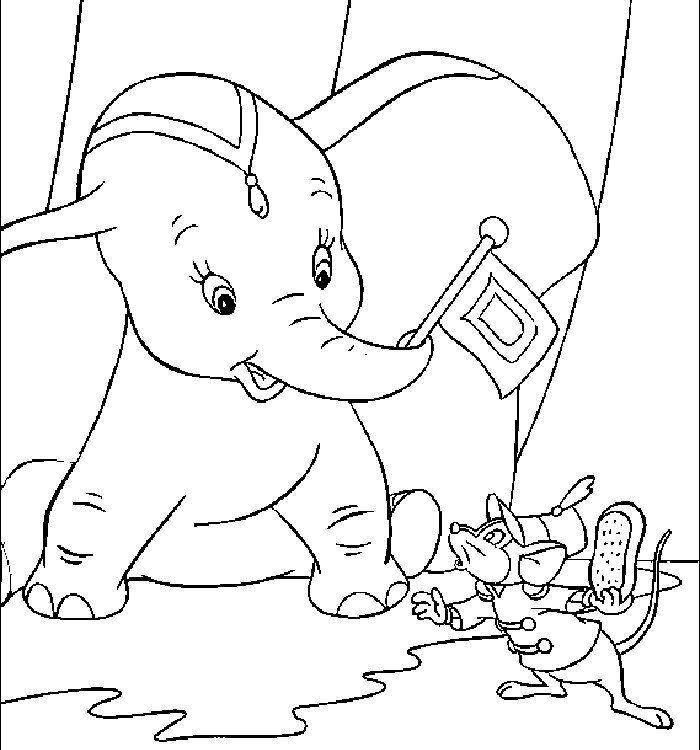 Dibujos para colorear - Disney | Dumbo coloring pictures | Pinterest ...