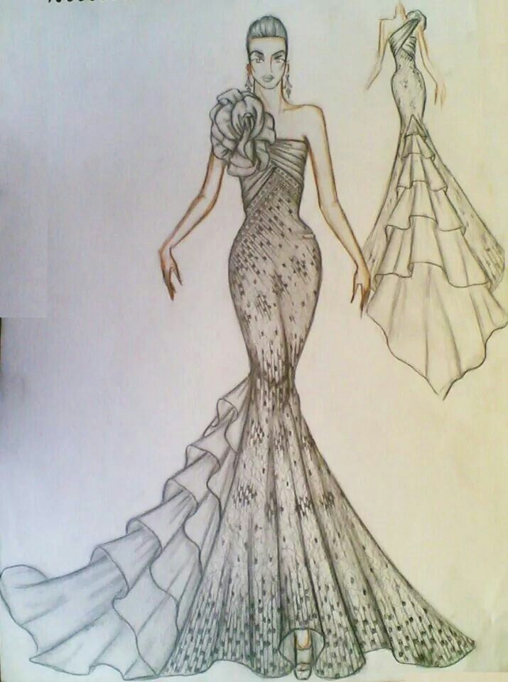 Pin By Zafirah Afaf On Sketch Illustration Fashion Design Fashion Design Sketches Fashion Illustration Sketches Dresses