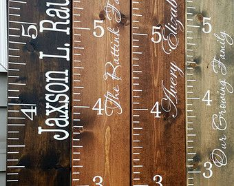 Check out wooden height chart thanksgiving gift christmas gift