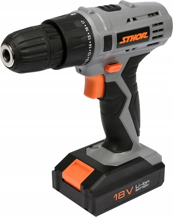 Wiertarko Wkretarka 18v Akumulator 78983 Sthor 8750651162 Oficjalne Archiwum Allegro Power Drill Drill Tools