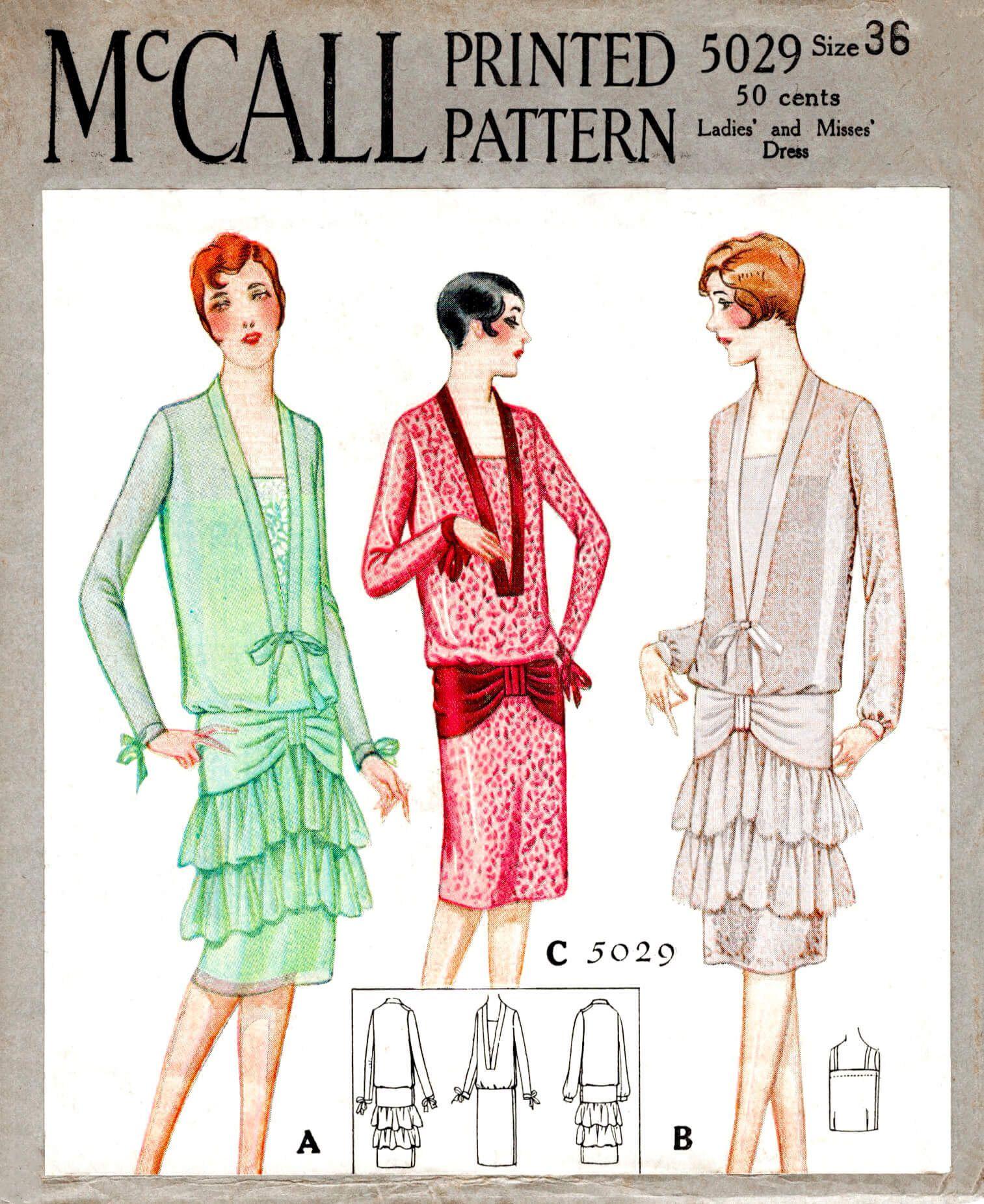 1920s 20s Agnes Vintage Couturier Dress Sewing Pattern 3 Etsy Vintage Outfits Vintage Dress Patterns Vintage Sewing Patterns [ 1851 x 1513 Pixel ]
