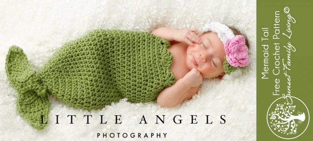 Mermaid Tail | Free Crochet Pattern | Crochet baby | Pinterest ...