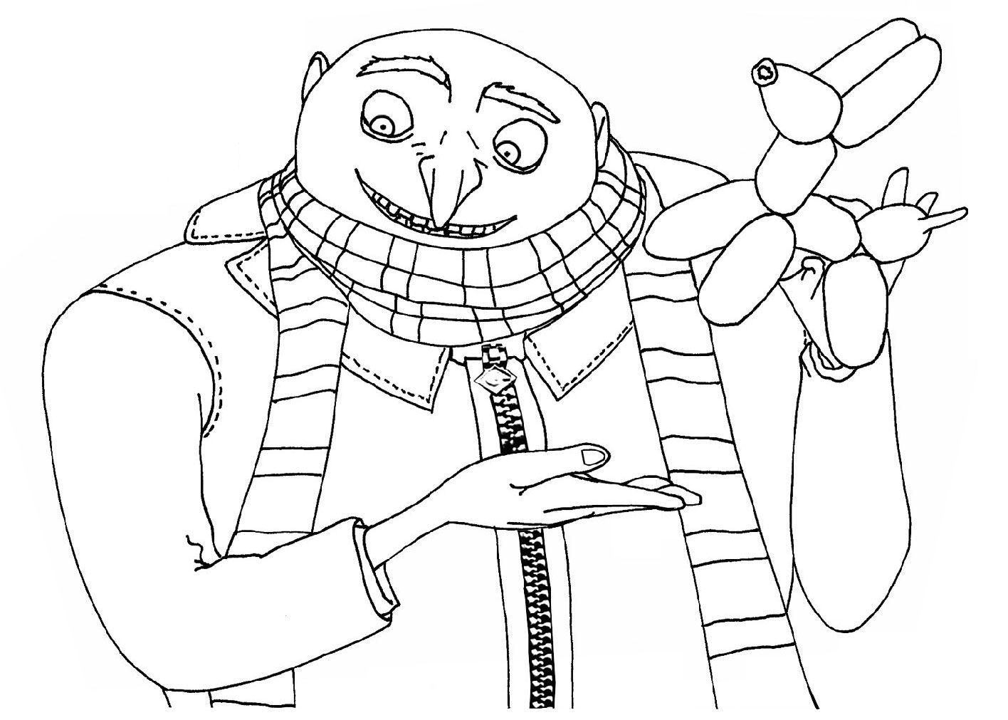 Coloring Pages For Universal Studios : Kids under despicable me coloring pages color sheets