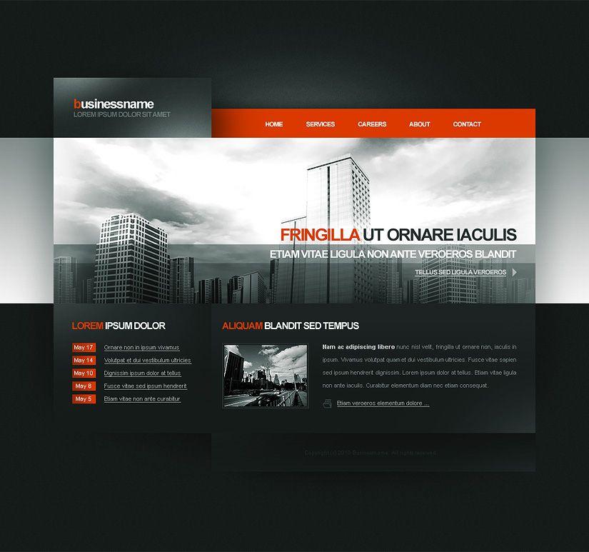 simple dark web design web design inspiration web rh pinterest com