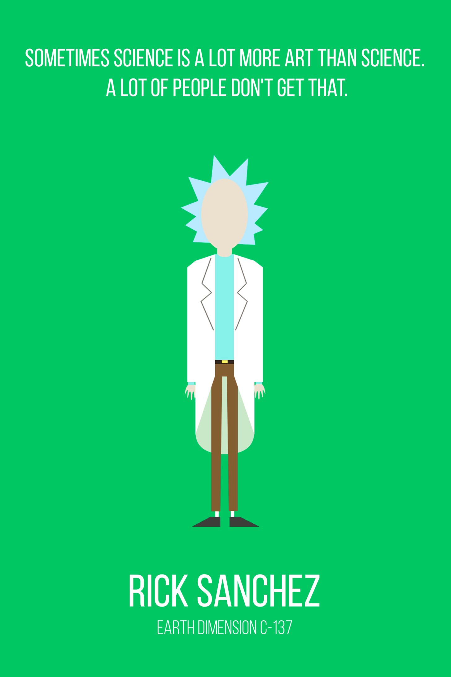 Rick And Morty Quotes Just some Rick and Morty quotes. | scifi/fantasy/general geekiness  Rick And Morty Quotes