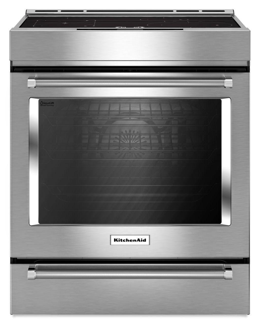 kitchenaid induction range