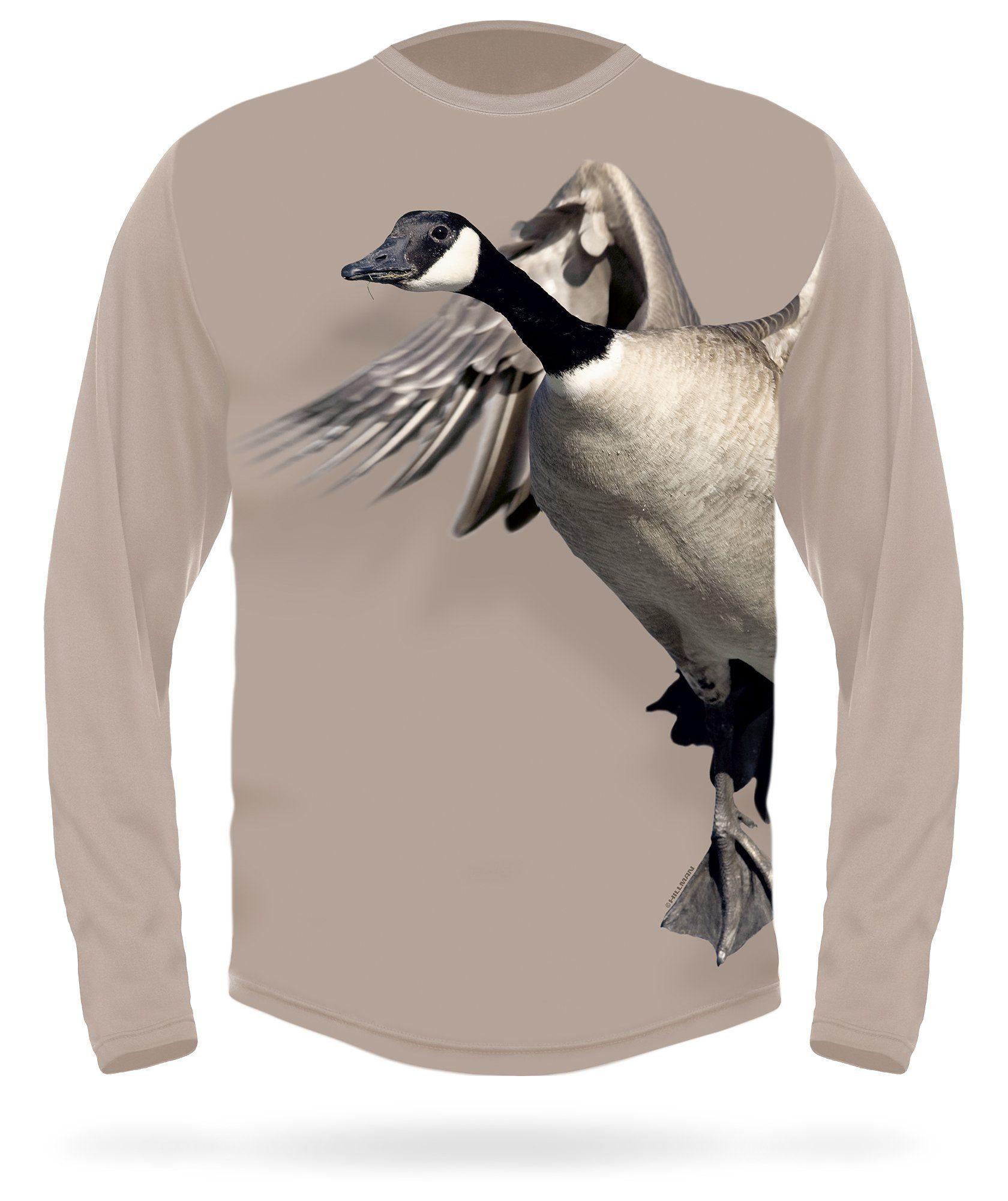 Canada goose side long sleeve tshirt long sleeve tshirt