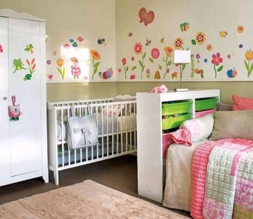 Shared Bedroom For Baby And Child Kid Design Ideas Part 58