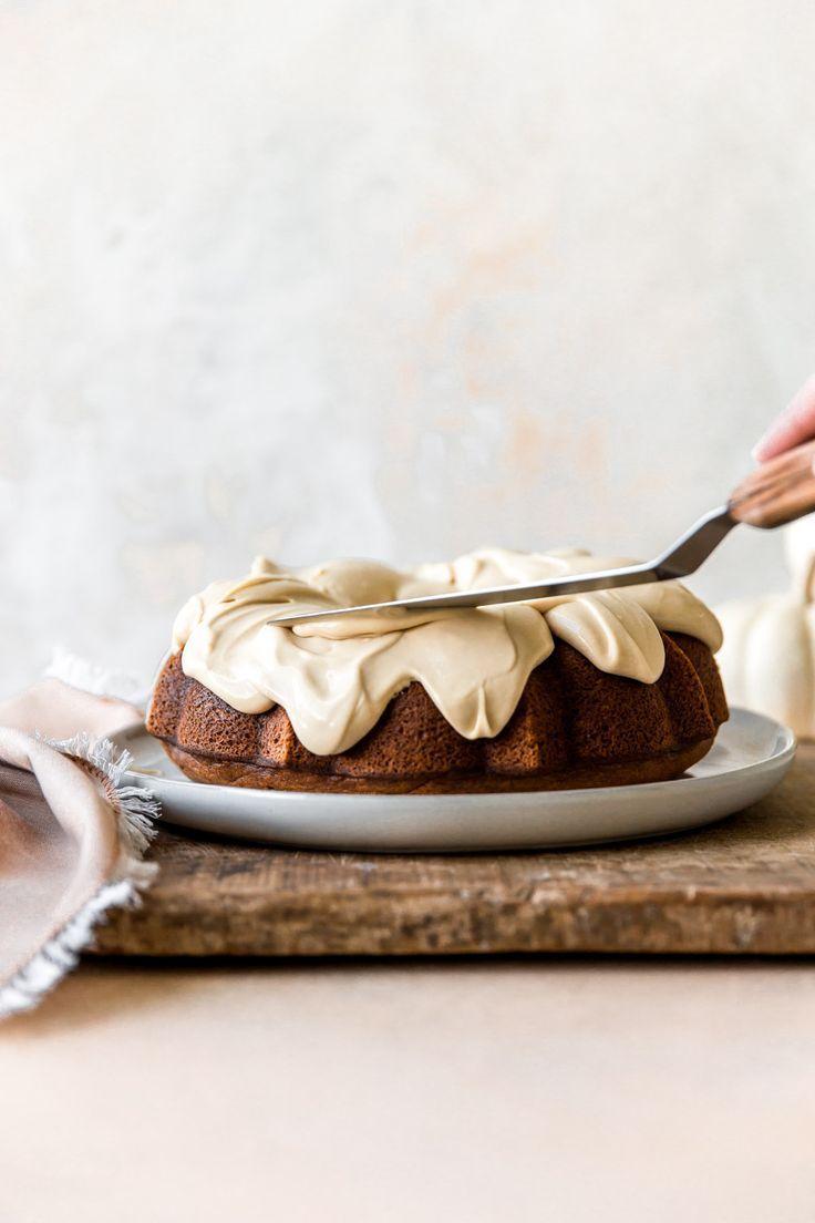 Pumpkin Spice Latte Bundt Cake | KJ and Company