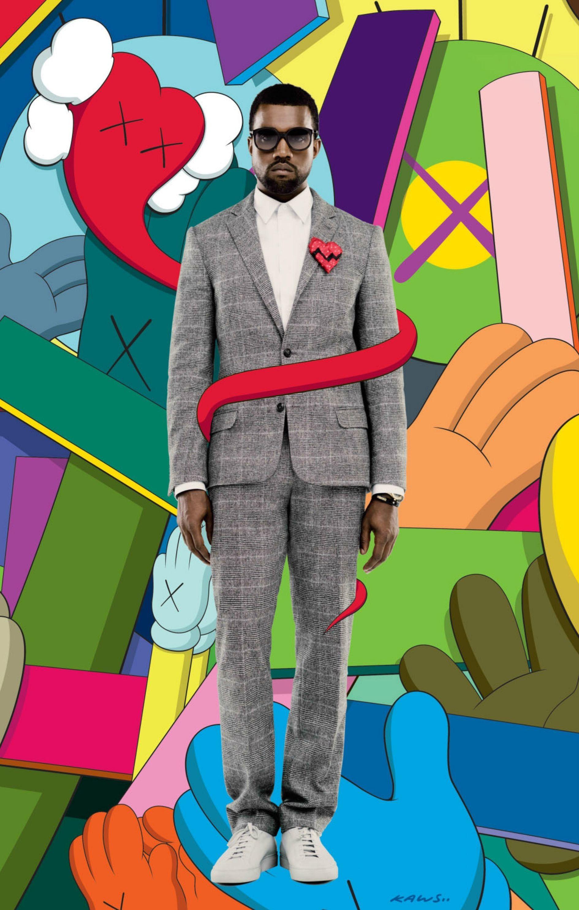 Google Image Result For Http Getwallpapers Com Wallpaper Full 7 3 6 921201 Full Size Kanye West 808s Heartbreak B Kanye West Heartbreak Art 808s Heartbreak