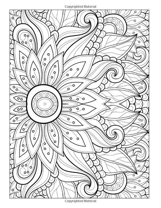 Free coloring page «coloring-adult-flower-with-many-petals ...