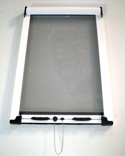Mosquitera Enrollable Vertical Para Ventana. Autoinstalable