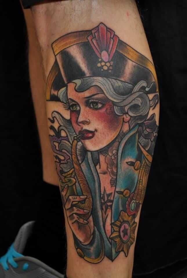 50 of the Sexiest Pin Up Girl Tattoos for Guys