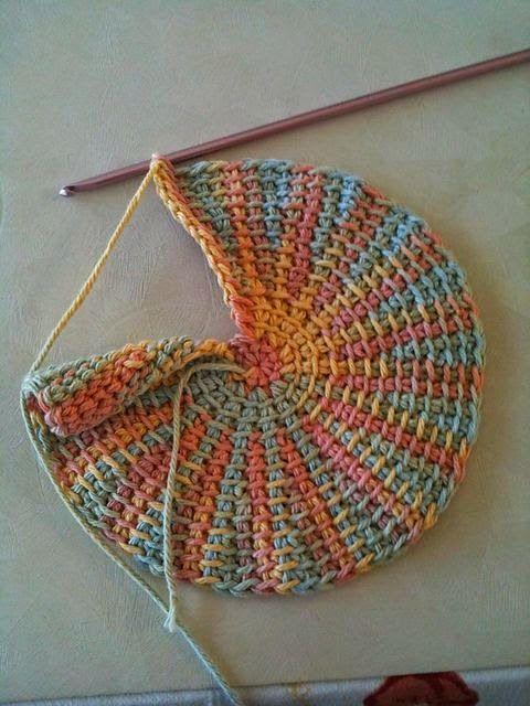 Marisabel crochet: Punto tunecino... | Patrones De Ganchillo ...
