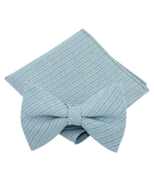 Find smart, stylish bow ties with matching pocket squares in various patterns and fabrics. http://www.knotjustties.com.au/