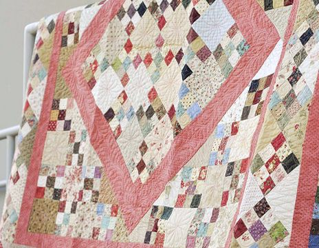 8 Quick and Easy Quilted Gift Ideas | Charm square quilt, Square ... : charm square quilt pattern - Adamdwight.com