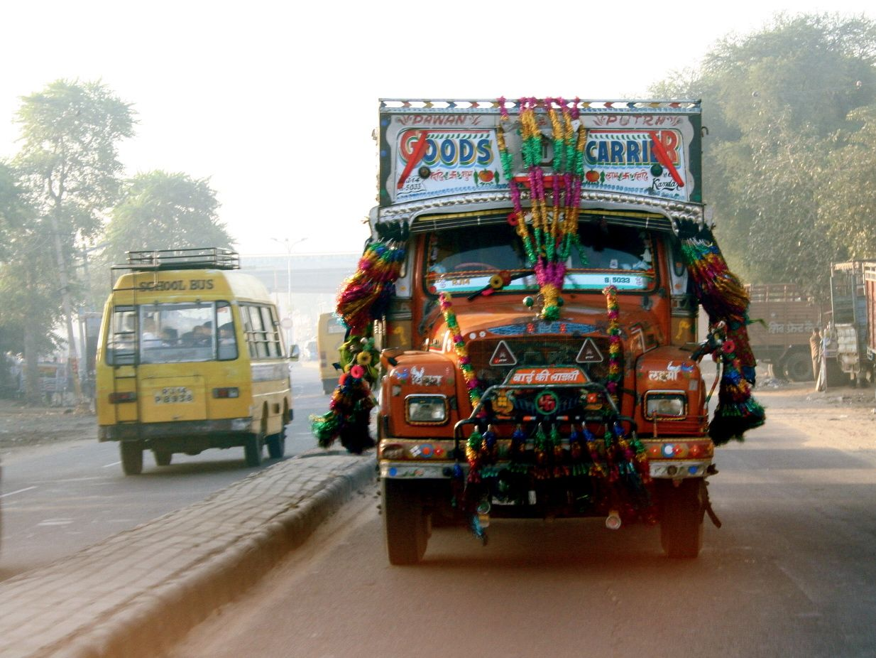 Indian Truck With Images Amazing India Trucks Incredible India