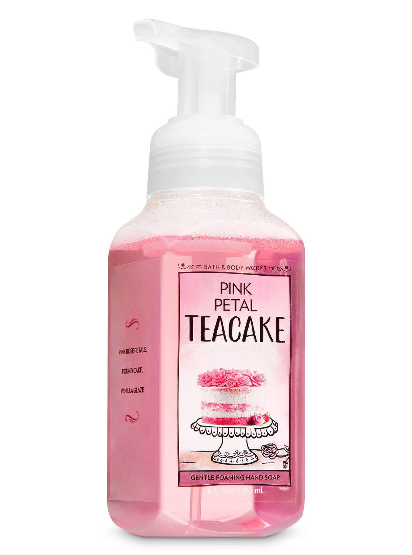 Pink Petal Tea Cake Gentle Foaming Hand Soap By Bath Body Works