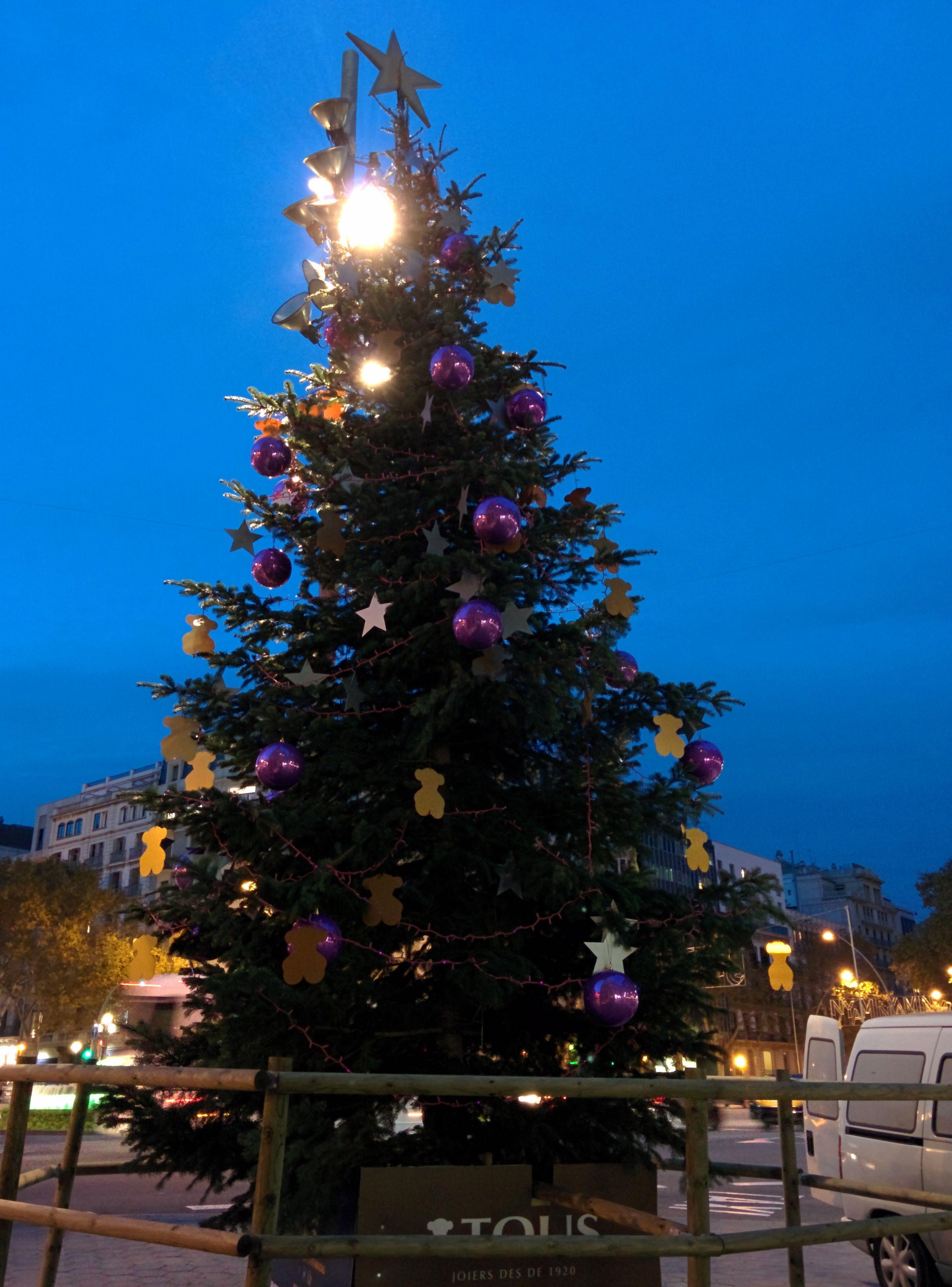 Passeig de Gràcia en Barcelona, Cataluña #NadalBCN #Navidad #Christmas
