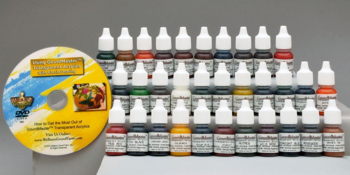 GourdMaster Transparent Acrylics